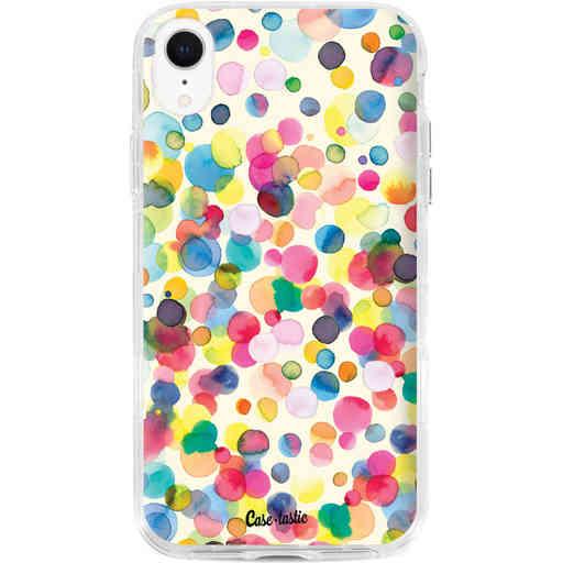 Casetastic Dual Snap Case Apple iPhone XR - Watercolor Confetti