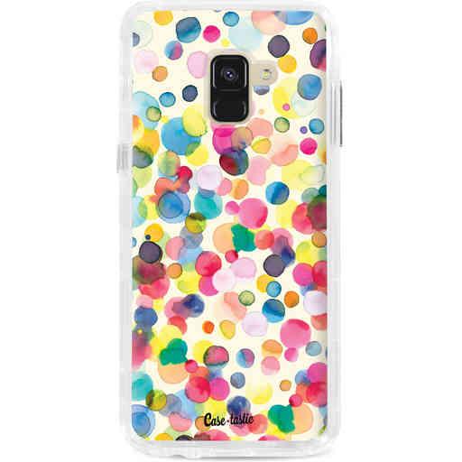 Casetastic Dual Snap Case Samsung Galaxy A8 (2018) - Watercolor Confetti