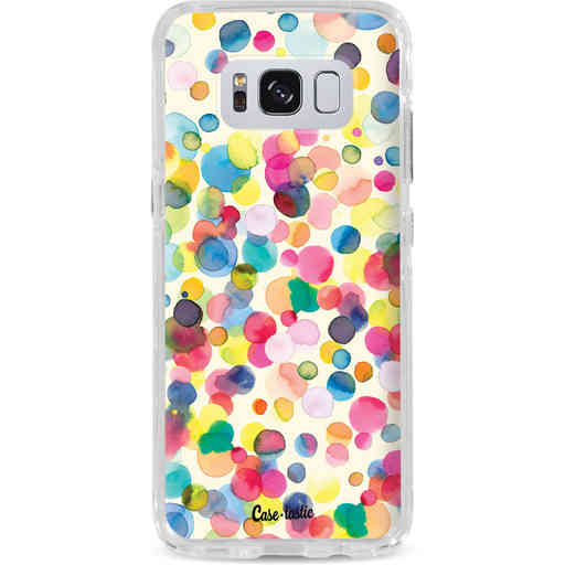 Casetastic Dual Snap Case Samsung Galaxy S8 - Watercolor Confetti