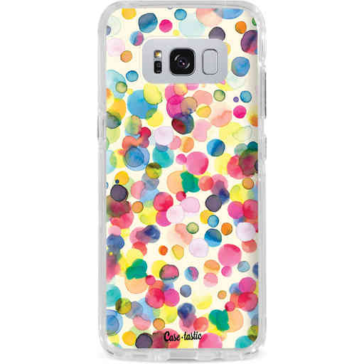 Casetastic Dual Snap Case Samsung Galaxy S8 Plus - Watercolor Confetti