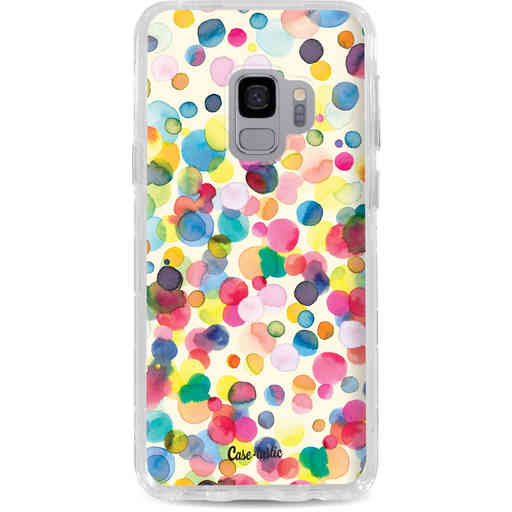 Casetastic Dual Snap Case Samsung Galaxy S9 - Watercolor Confetti