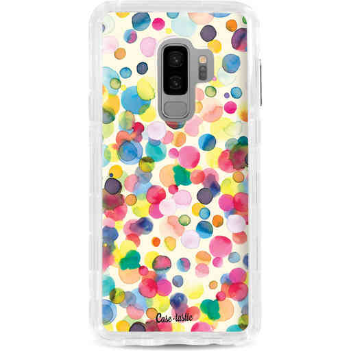 Casetastic Dual Snap Case Samsung Galaxy S9 Plus - Watercolor Confetti