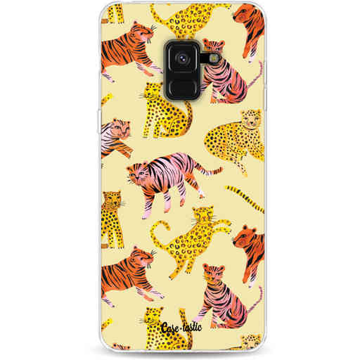 Casetastic Softcover Samsung Galaxy A8 (2018) - Wild Cats