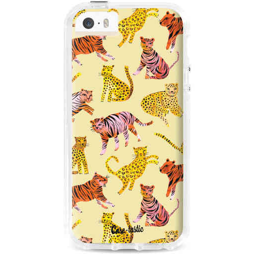 Casetastic Dual Snap Case Apple iPhone 5 / 5s / SE - Wild Cats