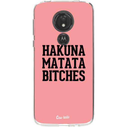 Casetastic Softcover Motorola Moto G7 Power - Hakuna Matata Bitches
