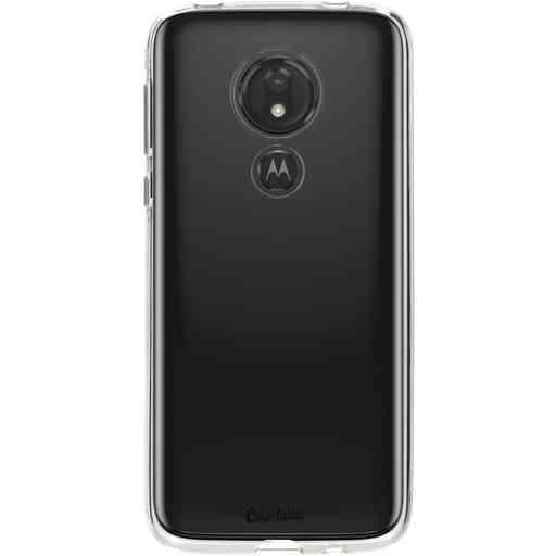 Casetastic Softcover Motorola Moto G7 Power - Transparant