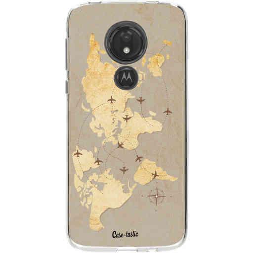 Casetastic Softcover Motorola Moto G7 Power - World Traveler