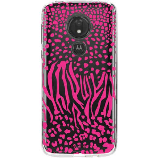 Casetastic Softcover Motorola Moto G7 Power - Safari Pink