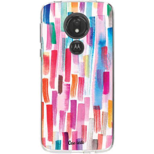 Casetastic Softcover Motorola Moto G7 Power - Colorful Strokes