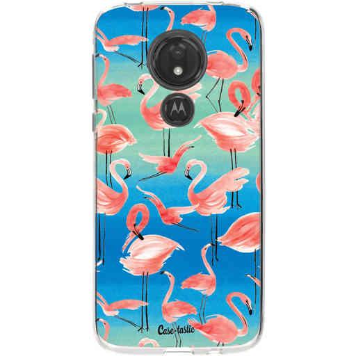 Casetastic Softcover Motorola Moto G7 Power - Flamingo Vibe