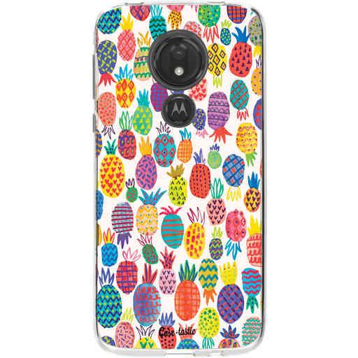 Casetastic Softcover Motorola Moto G7 Power - Happy Pineapples