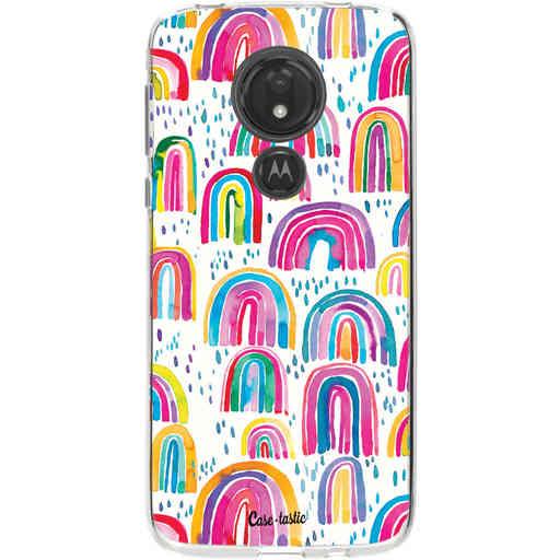 Casetastic Softcover Motorola Moto G7 Power - Sweet Candy Rainbows