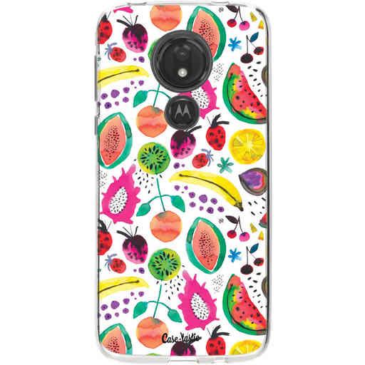 Casetastic Softcover Motorola Moto G7 Power - Tropical Fruits