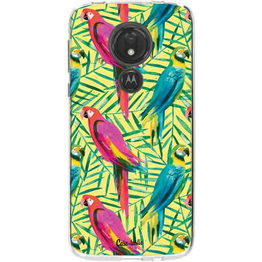 Casetastic Softcover Motorola Moto G7 Power - Tropical Parrots