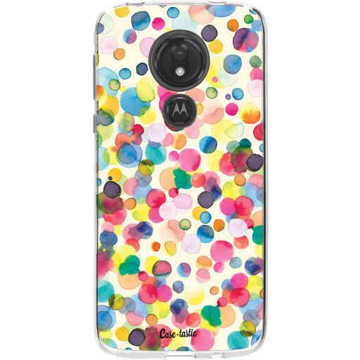 Casetastic Softcover Motorola Moto G7 Power - Watercolor Confetti